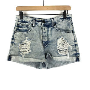 Brandy Melville Destroyed Jean Shorts Size 42 or 4